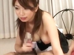 Hottest Japanese whore Hikari Hino in Best Maid, Foot Fetish JAV clip