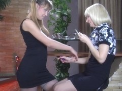 KissMatures Video: Amelia B and Aubrey