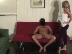 Kelly Wants her Slave to Suck Cock