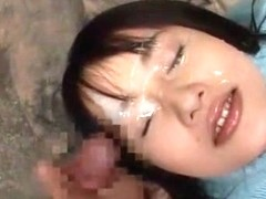 Hottest Japanese model Haruki Mizuno in Incredible Facial, Big Tits JAV movie