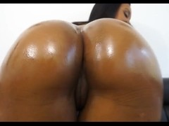 Ebony girl took part in the interracial sex scene