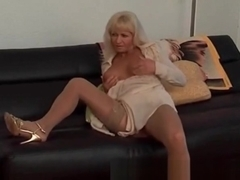 My Sexy Piercings Sexy French mature with pierced pussy