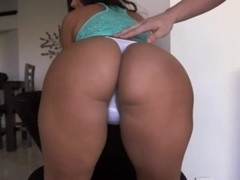 Delightful tits fondling