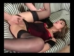 French Dark Brown Likes Anal by TROC