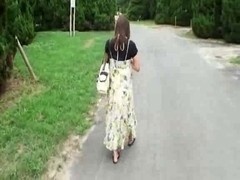 Preggo Japanese Gal Has to Fuck  Hobos