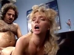 Crystal Wilder, Ron Jeremy in Ron Jeremy fucks blonde model's round ass