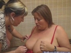 THONG ON BIGGEST BREASTS