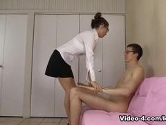Striptease Blowjob Riding Creampie