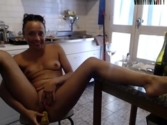 Squirt Fisting Monster dildo H.Evelinna part.6