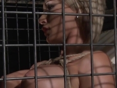 Restrained Milf Dominated And Jizzed On