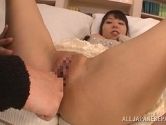 Stunning AV girl Yuuki Itano gets her pink kitty drilled