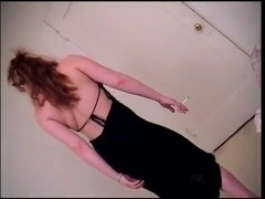 Smoking Blonde Cunt Gets Ass Fucked.