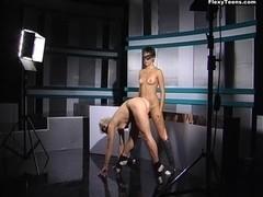 Galina and Galina - Gymnastic Video part 1