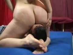 Sweaty amateur smother