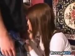 Russian Teen Couple Fucking