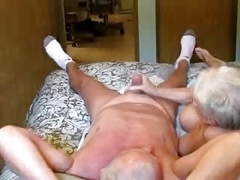 Elderly pair sextape