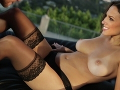 Gorgeous Lily in love fuck