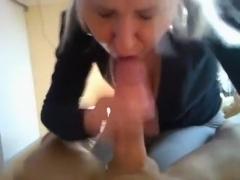 My busty wife is a hot sucker!