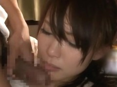Amazing Japanese milf Yuu Konishi gives excellent headfuck