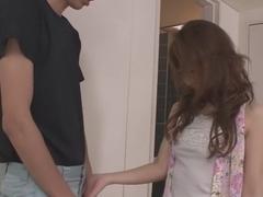 Hottest Japanese slut Nami Honda in Fabulous JAV uncensored Blowjob scene