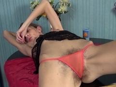Amazing pornstar in Hottest Fingering, Hairy sex movie
