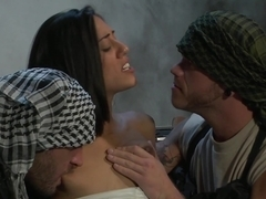Amazing pornstar Lyla Storm in Exotic Brunette, Threesomes sex movie