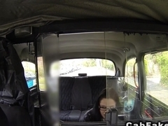 Fake taxi driver charge taxi fare with cock
