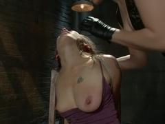 Best lesbian, anal xxx clip with exotic pornstar Bobbi Starr from Wiredpussy