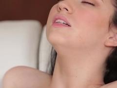 Hottest pornstar Aria Alexander in Best Brunette, Interracial adult scene