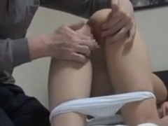 Hot Japanese slut gets her muff boned
