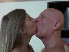 Exotic pornstar in crazy small tits, blonde porn movie