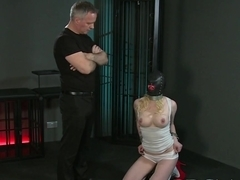 Exotic pornstars Adriana Chechik, Steven St. Croix in Incredible Cunnilingus, Redhead porn scene