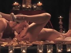 Horny pornstar Abigail Mac in exotic blonde, cunnilingus porn clip