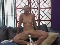 Honey Demon showing perfect body and making a blowjob