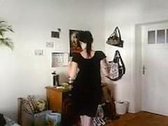 Tattooed stripper home video