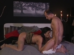 Hottest pornstars Olivia Wilder, George in Incredible Stockings, Romantic sex video