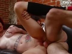 BurningAngel Emo Punk Chick has Hot Anal Sex