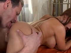 Welcome to the bed of very sexy chick Aletta Ocean