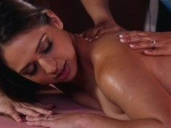 Sara Luvv & Luna Star in Latina Massage - AllGirlMassage