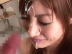 Crazy Japanese chick Kirara Asuka in Horny Couple, Handjob JAV video