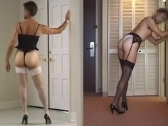 Regret, that femdom crossdressing corset for