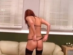 Cum wanting dark brown teases and then sucks my ding-dong and balls