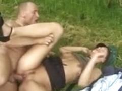 German Police Officer receives screwed