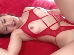 Incredible Japanese slut in Hottest Group Sex, Fishnet JAV movie