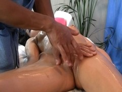 Massage with a squirt and fellatio