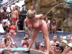 wildest pool party ever