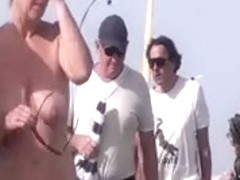 French nudist beach Cap d'Agde people walking stripped 09