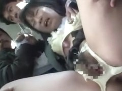 Fabulous Japanese whore in Best Public, Fetish JAV clip