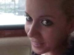 Cindy Dollar irrumation in car