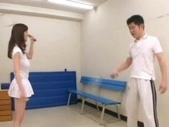 tennis coach Sayuki Kanno has big knockers by eliman